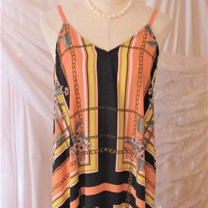 Nanette Lepore hi-low maxi dress sz 12